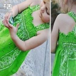 亲手给宝贝制作既清凉又漂亮的连衣裙