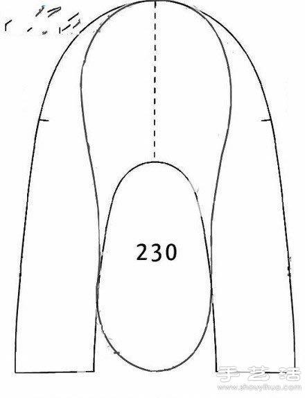Выкройка закрытых тапочек своими руками 25