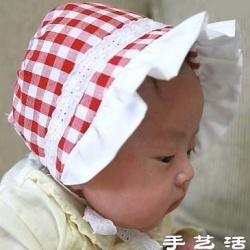 不织布教程:布艺手工制作婴儿帽