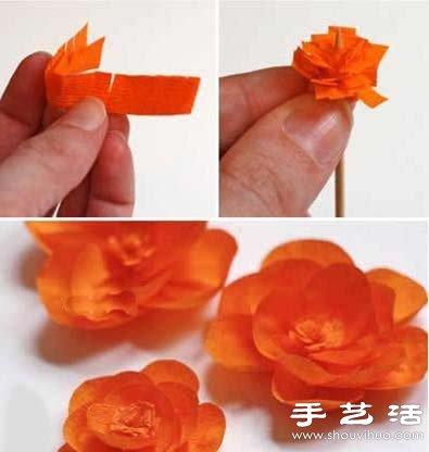 纸花环制作方法图解