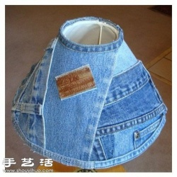 牛仔裤旧物改造 牛仔裤创意手工DIY
