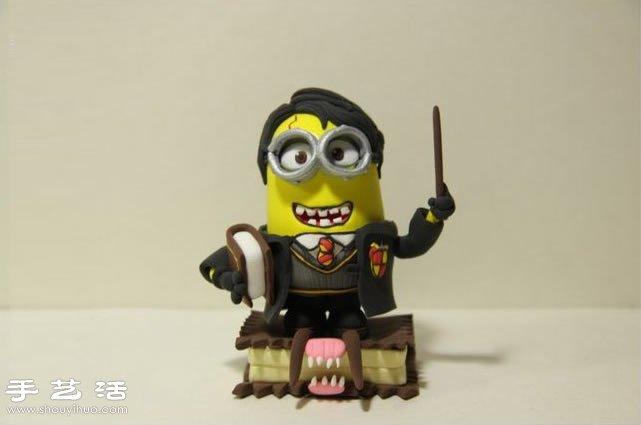 軟陶粘土手工DIY惡搞小黃人
