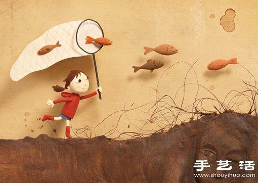 """""""捕鱼""""的小女孩龙都娱乐品 -  www.shouyihuo.com"""