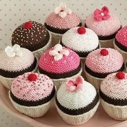 钩针制作的可爱甜点