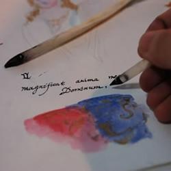 自制鹅毛笔 鹅毛笔的制作方法教程