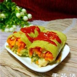 清爽可口黄瓜鸡肉卷的做法