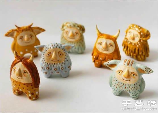 北歐風軟陶製作手工藝品