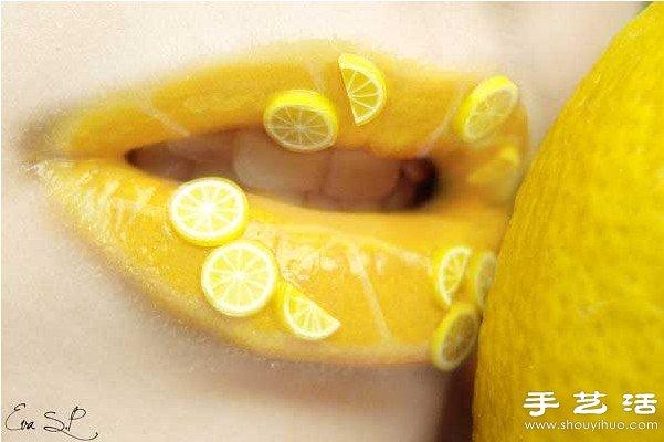 創意水果唇彩DIY設計