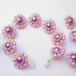 超漂亮的珍珠串珠首饰饰品制作图解教程