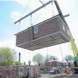 房子也能快递 看看英国人是怎么造房子的~
