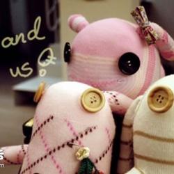 长耳兔袜子娃娃 袜子制作兔子玩偶图解教程