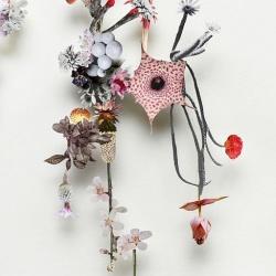 植物花草拼贴DIY美丽如诗的装饰画