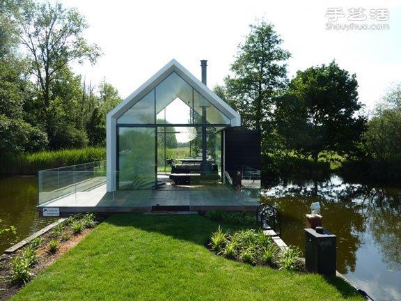荷兰湖区度假小木屋装修设计 - www.shouyihuo.com