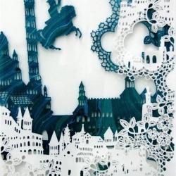 童话世界般的精美纸雕艺术