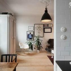 纽约X斯德哥尔摩工业简约风男子公寓布置