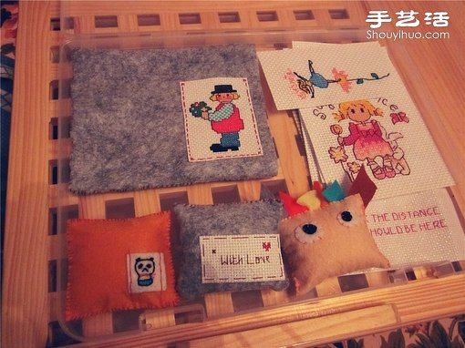 可爱清新卡通十字绣 -  www.shouyihuo.com