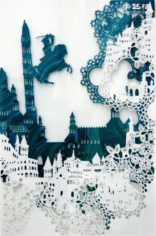 童话世界般的精美纸雕艺术 -  www.shouyihuo.com