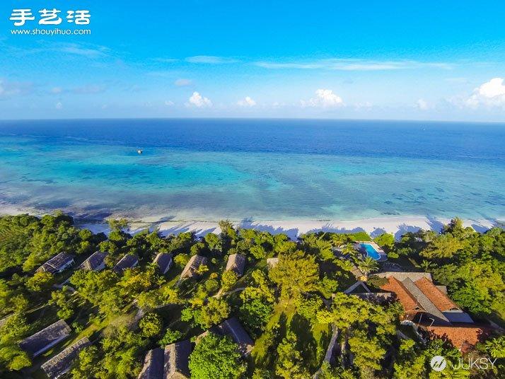 曼塔海上度假飯店 水中房間還會有魚兒拜訪