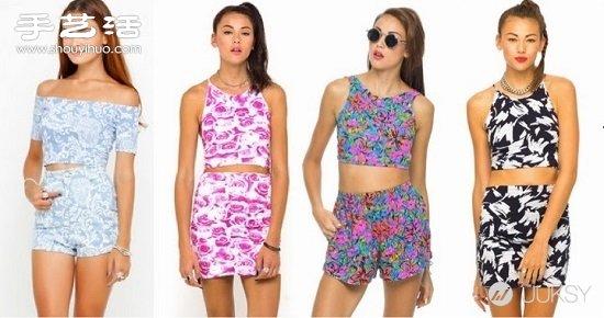 女孩時尚甜美穿衣搭配法Matching Set