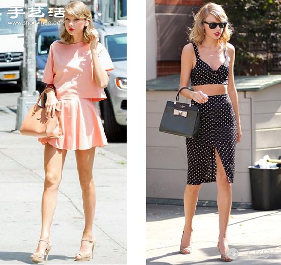 女孩时尚甜美穿衣搭配法matching