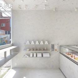 日本和菓子甜点店L'Espoir Blanc设计