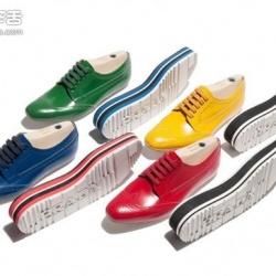 量身订制你专属的Prada厚底牛津鞋