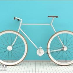 超轻巧自行车Kit Bike 你可以带着它到处跑