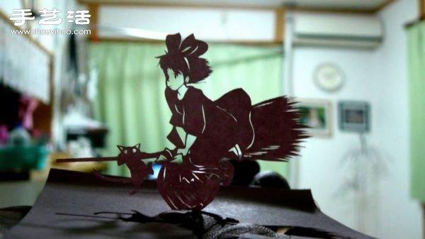 不思議的動漫紙雕,竟是用便條紙做的!!