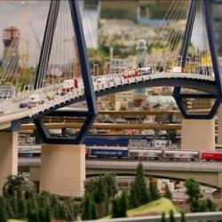 全世界最大规模的玩具火车模型