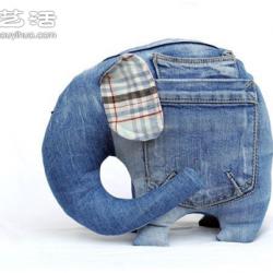 一组精彩的牛仔裤手工DIY作品欣赏