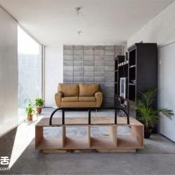 混凝土块堆成的小屋 Modern Box House
