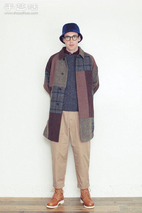 秋冬男士服装设计搭配