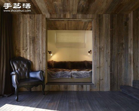独一无二的山中度假小屋装修设计
