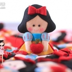 布艺女生娃娃玩偶手工制作带图纸