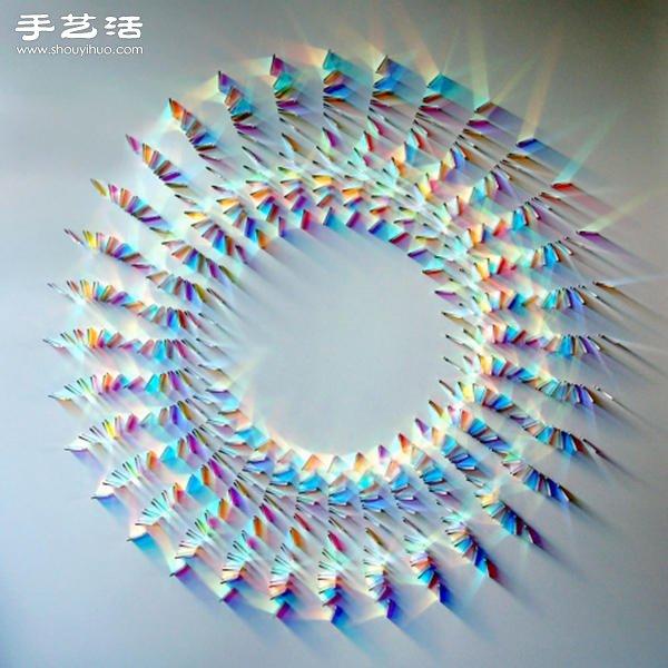 让光线成为最迷幻的装饰,稜镜反射艺术