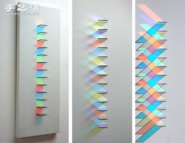 让光线成为最迷幻的装饰,稜镜反射艺术 -  www.shouyihuo.com