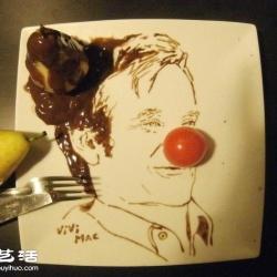跟著法国艺术家Vivi Mac一起玩食物绘画