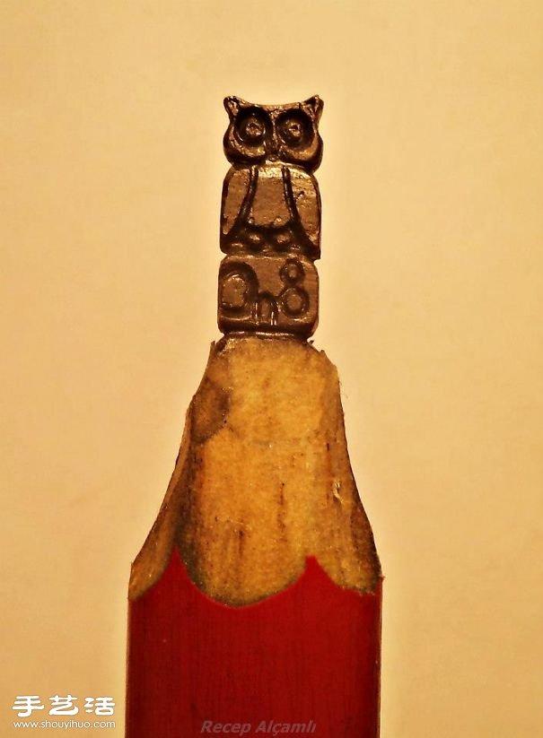 令人震撼的鉛筆芯雕刻 想不想也來DIY試試?