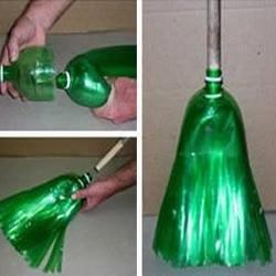 大瓶装饮料瓶手工制作拖把图解教程