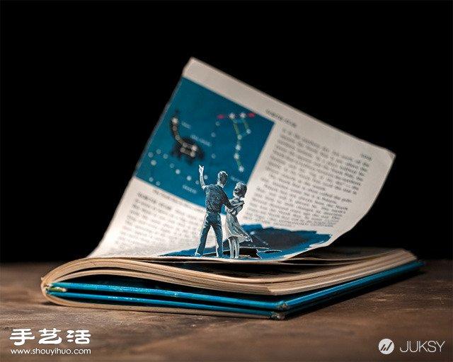 絕美的紙藝術品 顛覆你對紙張的既定印象!