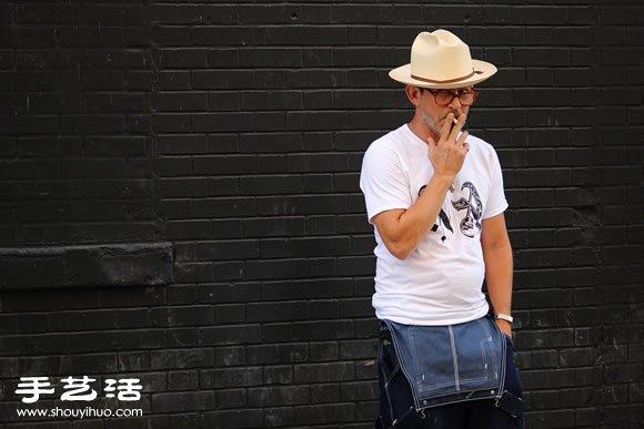 2015 纽约男装周街拍特别报导 (二) -  www.shouyihuo.com