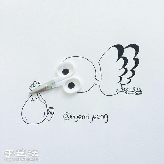jeong的创意简笔画