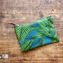 带拉链自然风手工布袋/手袋制作图解教程