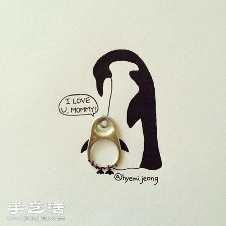 韩国插画师hyemi jeong的创意简笔画(续)图片