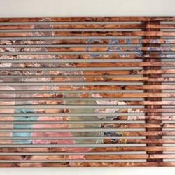 木条手工DIY制作装饰画 个性木条装饰画