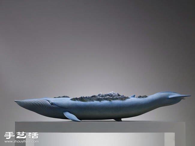 蘊藏生命力的超現實動物雕塑