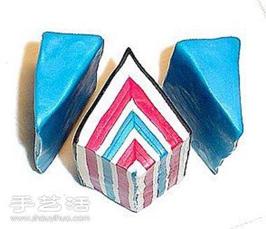 带花纹的软陶珠子手工DIY制作图解教程 -  www.shouyihuo.com