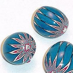 带花纹的软陶珠子手工DIY制作图解教程