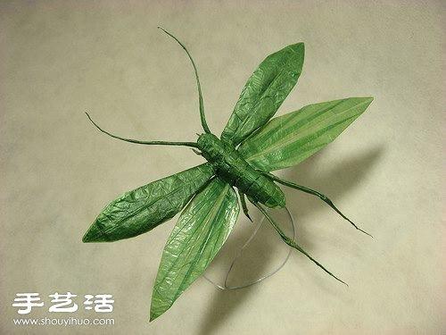 创意动物折纸作品
