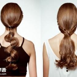 不再无聊的低马尾 两款浪漫低发尾发型